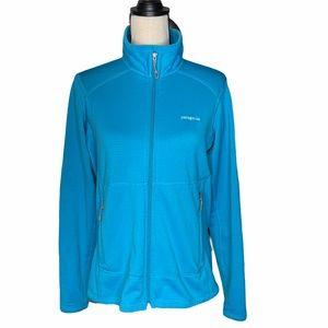 Patagonia Waffle Knit Blue Jacket